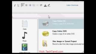 Basics about DVD Copying & Bootable DVD Writing in Tamil www.TechTamil.com