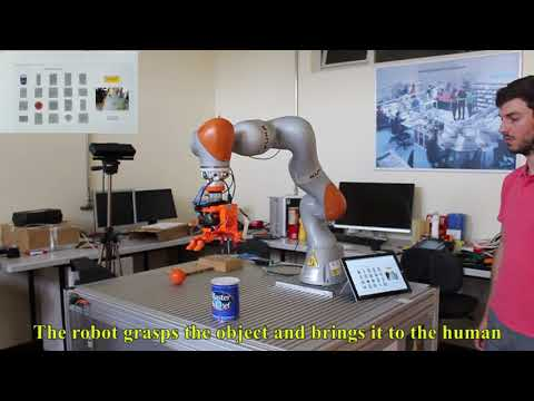 Object recognition and grasping for collaborative robotics