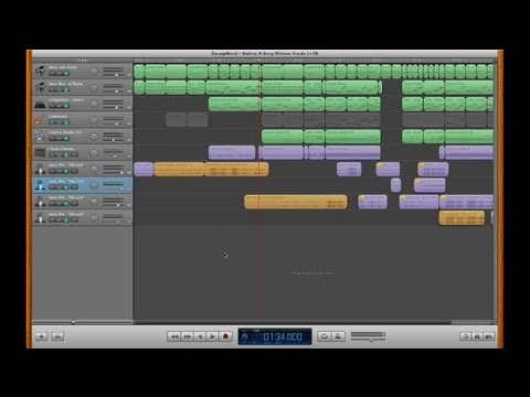 how to create a song on garageband