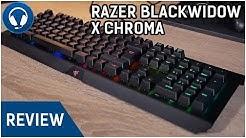 Razer BlackWidow x Chroma Hardware Review - ROCKT DER KLASSIKER NOCH?