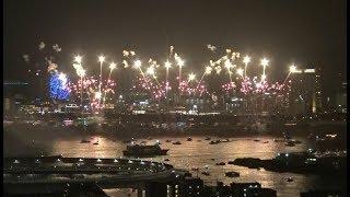 「東京花火大祭~EDOMODE~」2018 多連装連射で夏の夜空を花火が埋め尽くし