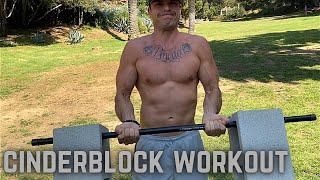 30 Minute Cinderblock Full Body Workout - Ryan Pineda