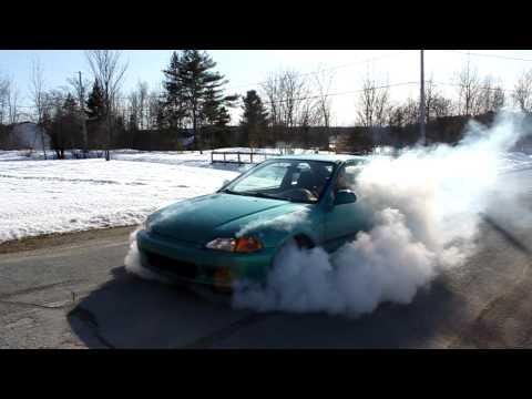 EJ1 B16A Burnout