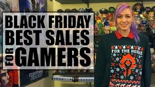 Best Deals for GAMERS on Black Friday 2016