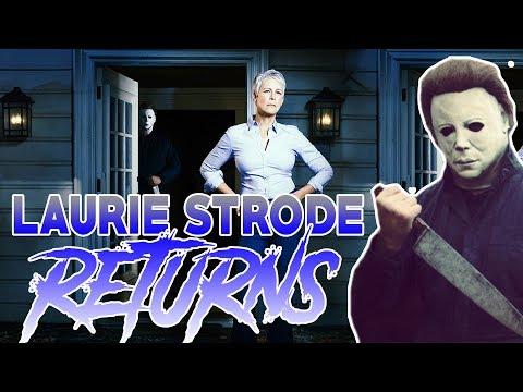 LAURIE STRODE is in the New HALLOWEEN!! | Jamie Lee Curtis RETURNS! | Slash 'N Cast