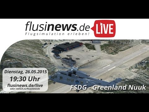 flusinews.de LIVE - Review - FSDG Nuuk Greenland!