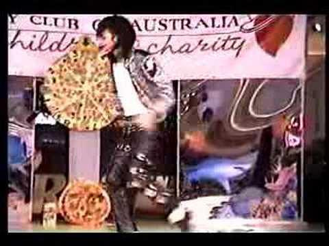 Jason Jackson - MJ Impersonator @ Variety Club Australia 1994
