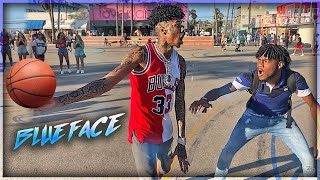 BruhmanTv Vs Blueface $25,000 4v4 Basketball Game| THINGS GOT HEATED! | FT. MIAMITHEKID, CUDA CASH
