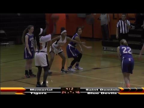 MHS Girls Basketball vs St Dominic Academy 2-7-18