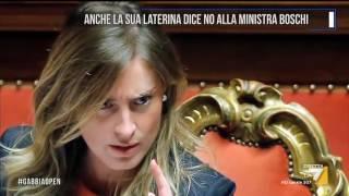 Anche la sua Laterina dice No alla Ministra Boschi
