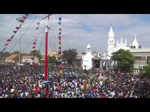 Thoothukudi Panimaya Matha Church Festival 2018 | பனிமய மாதா பேராலயத் திருவிழா தொடக்கம்