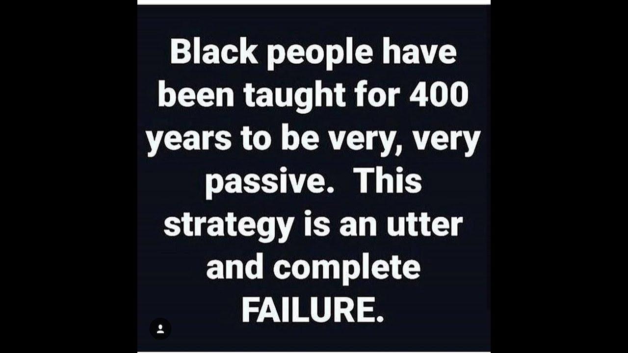 FORGIVING ''BLACK'' FOLKS