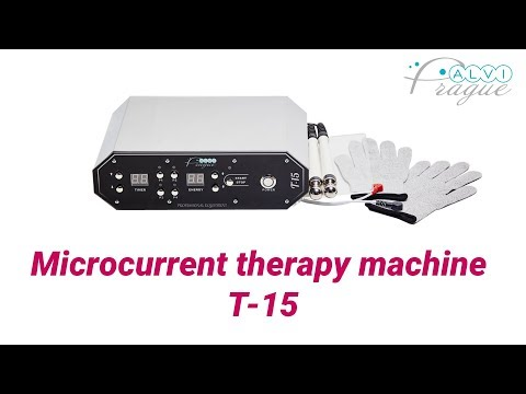Microcurrent therapy machine T-15. Beauty equipment by Alvi