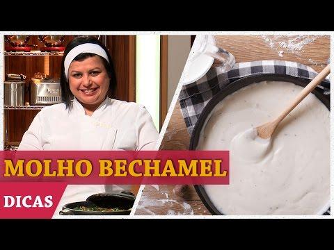 MOLHO BRANCO (BECHAMEL) Com Helena  | DICAS MASTERCHEF