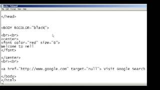 How to open links in a new window in HTML web page