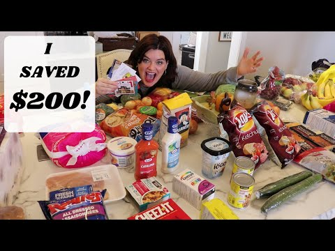 Shop With Me - Extreme Couponing In Canada!