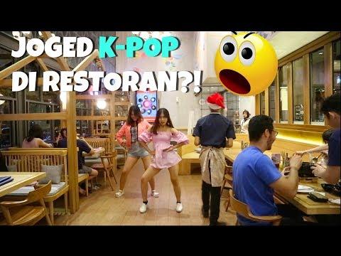 RICE-BALL CHALLENGE DI RESTORAN   YANG KALAH JOGED K-POP