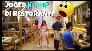 RICE-BALL CHALLENGE DI RESTORAN | YANG KALAH JOGED K-POP