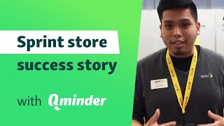 Creating a personal environment in a Sprint store with Qminder