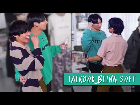 taekook hugging AGAIN; being soft with each other    taekook moments ep.117