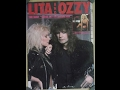 Close My Eyes Forever Lita Ford With Ozzy Osbourne Lyrics On Screen