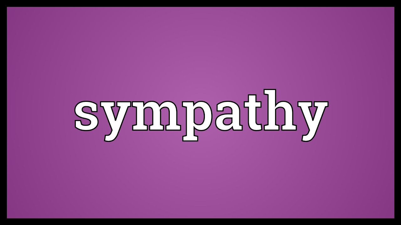 Sympathy Meaning - YouTube on