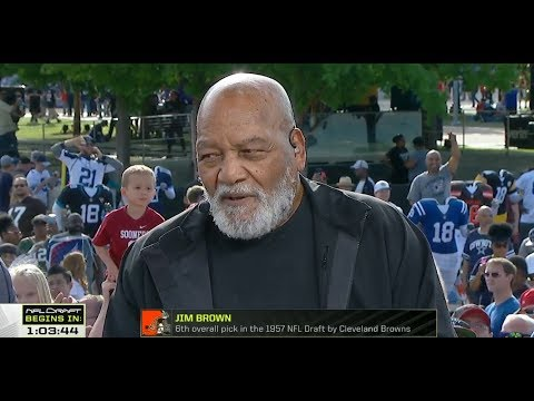 Jim Brown Live From 2018 NFL Draft  Apr 26, 2018