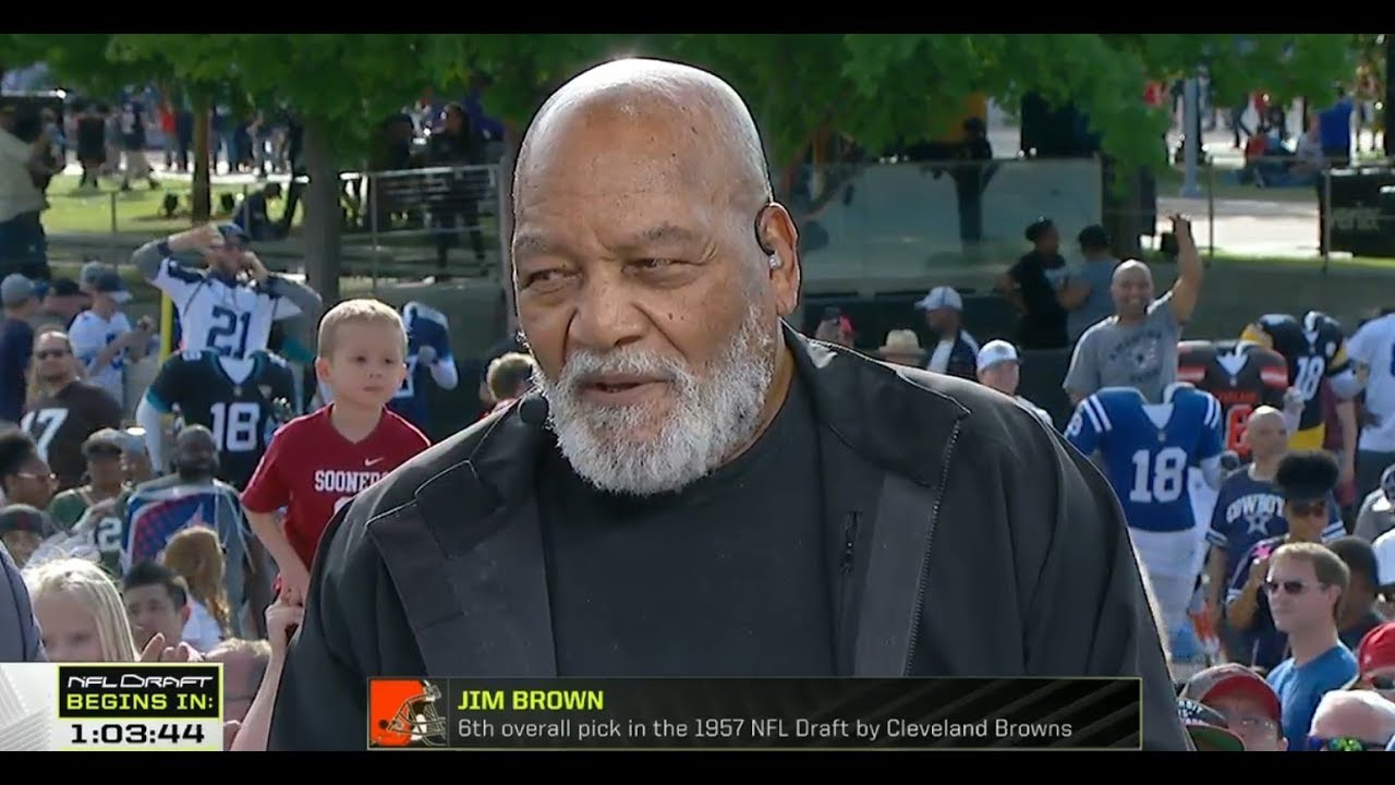 Jim Brown Live From 2018 NFL Draft | Apr 26, 2018 - YouTube