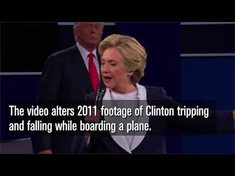 Download Youtube: Trump Retweets Doctored Video Of Him Striking Clinton With Golf Ball   Los Angeles Times