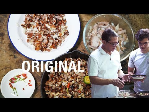ORIGINAL SISIG RECIPE in Pampanga | Greater Philippines