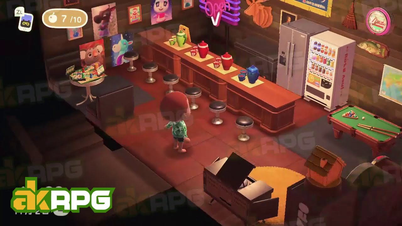 Animal Crossing New Horizons Game Room Design An Awesome Game Room Youtube