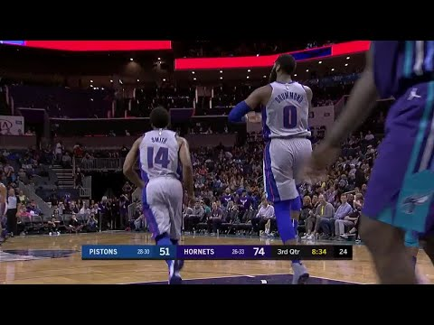 3rd Quarter, One Box Video: Charlotte Hornets vs. Detroit Pistons