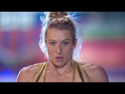 American Ninja Warrior: Miami City Qualifiers Clip || Jessie Graff Run || SocialNews.XYZ