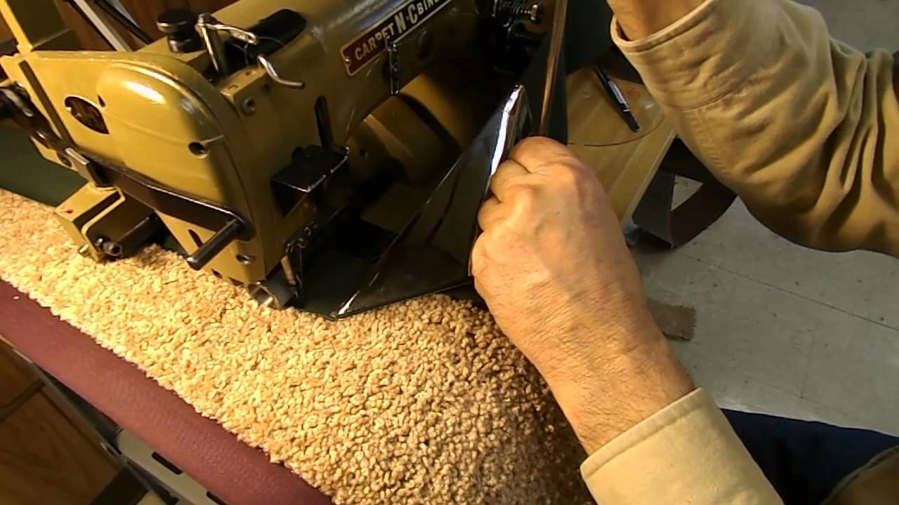 How To Carpet Binding Wide Borders Sisal Tapes 3 Quot 5
