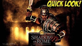 PS2: Shadow of Rome! Quick Look - YoVideogames