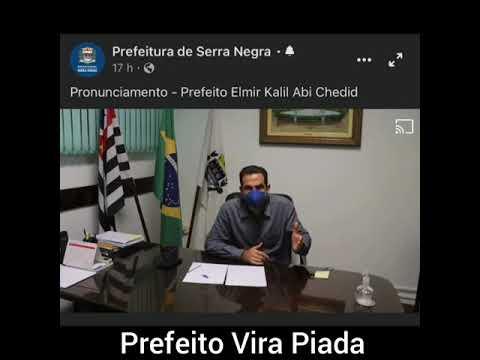 PRONUNCIAMENTO DE PREFEITO VIROU PIADA