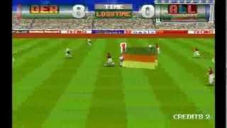Tecmo World Cup 98 Germany 8 Allstars 0