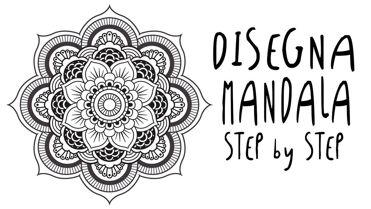 Come DISEGNARE un MANDALA passo a passo per principianti