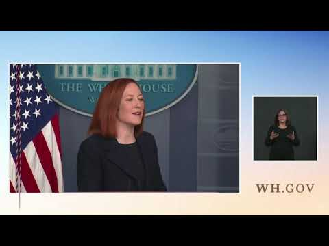 "Psaki: There Will Be ""No Federal Mandate,"" Vaccine Passports ""Will Be Driven by Priva"