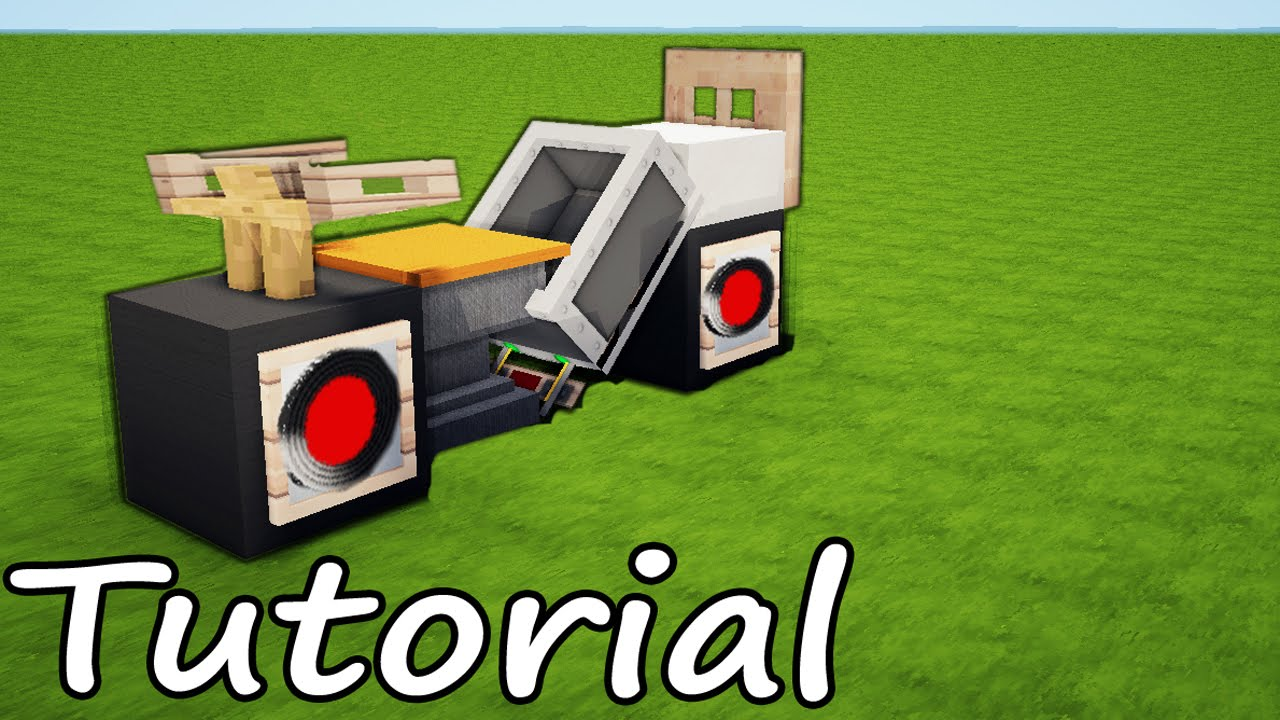 Minecraft motorcycle tutorial design for modern house for How to create a motor