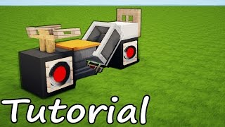 Minecraft: Motorcycle Tutorial - Design For Modern House / How to Make a Motor Bike