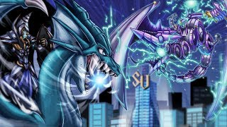 YuGiOh Legendary Dragon Duels! ..Dragons of Atlantis vs Cyber Dragons..