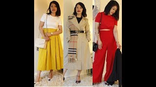 How I Style | Mixture of New and Old Collection Outfit | Nimii Subba