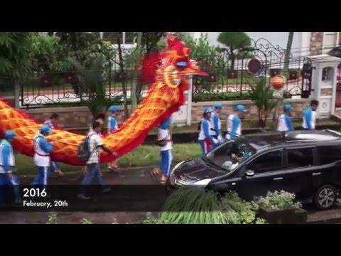 Naga Bersinar Panca Bhakti - Cap Go Meh 2016 | Pontianak, Indonesia (HD)