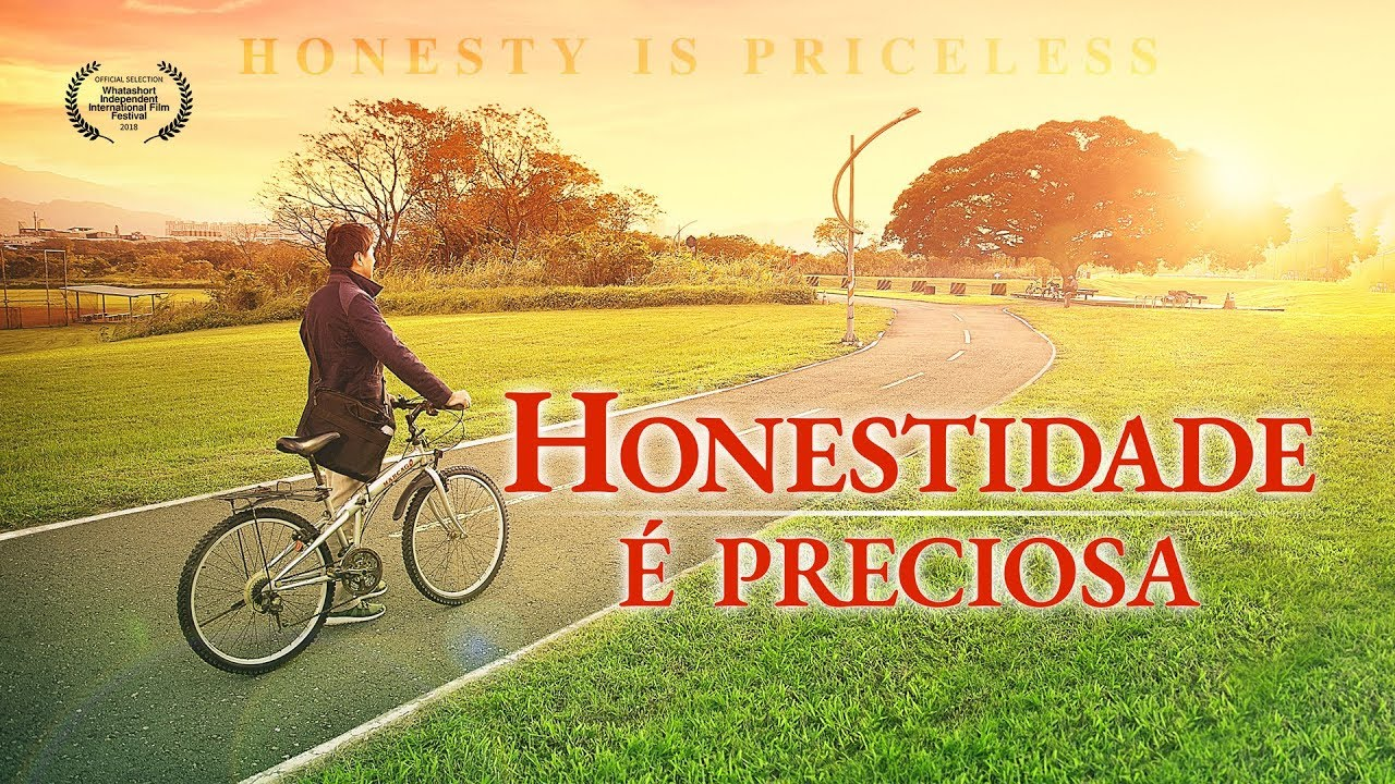 """Filme gospel família """"A honestidade é preciosa"""" Somente os honestos podem entrar no reino dos céus"""