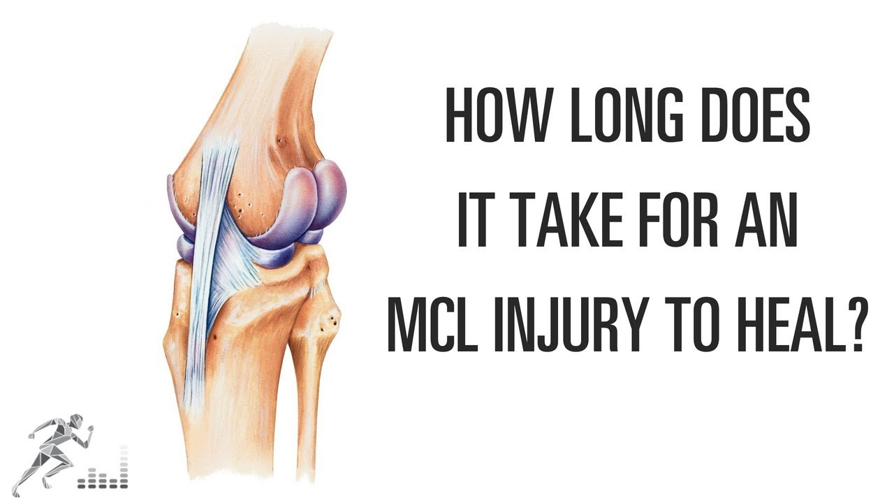 685b02a1e3 How long does it take an MCL injury of the knee to heal? - YouTube