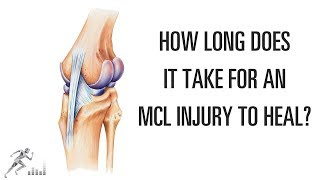 How long does it take an MCL injury of the knee to heal?