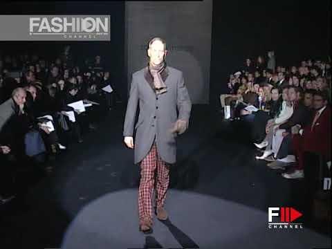 ROCCOBAROCCO Fall 2003 2004 Menswear Milan – Fashion Channel