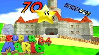 Super Mario 64 - 70 STAR SPEEDRUN (RACE)! ft. Dan Good Repairs