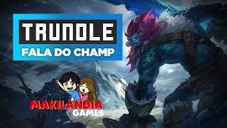 🔴 Como jogar de TRUNDLE em 13 minutos - League of Legends - Fala do Champ S7 - ( REGENERAÇÃO OP ! )